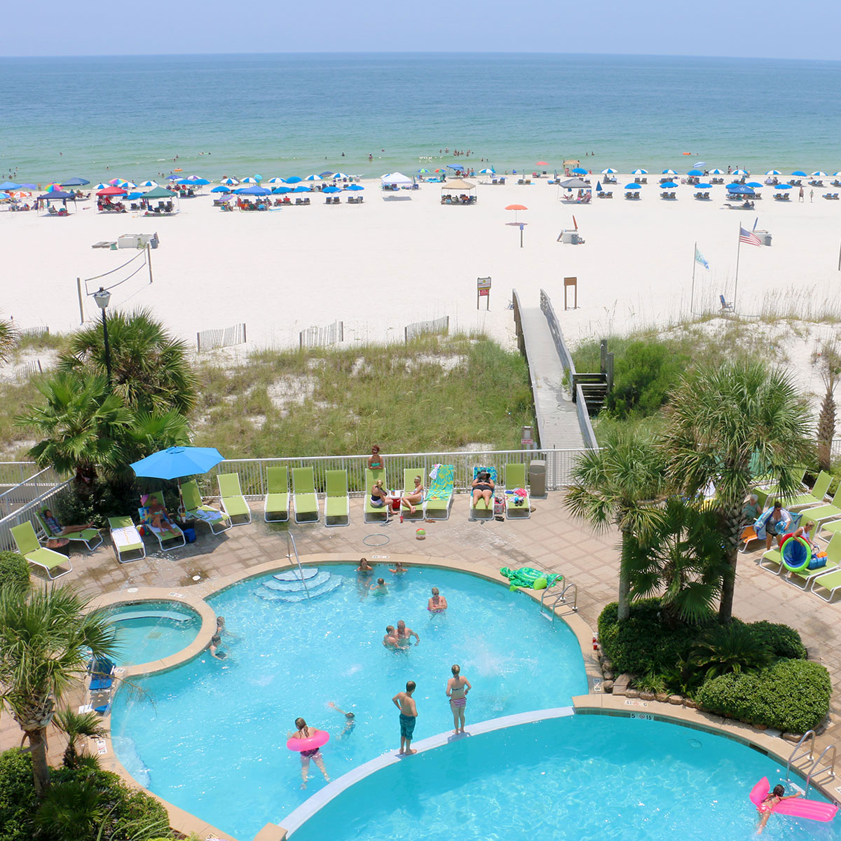 Our Rooms Holiday Inn Express Orange Beach Al