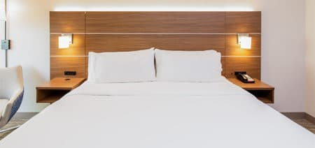 Accessible Inland King Hotel Room | Holiday Inn Express | Orange Beach AL | Featured Image