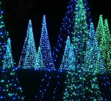 Bellingrath Gardens Christmas Lights | Holiday Inn Express| Orange Beach AL