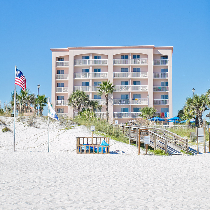 Orange Beach Hotel Holiday Inn Express On The Alabama